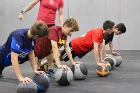 Core training applicato a giovani calciatori : alcune proposte pratiche.