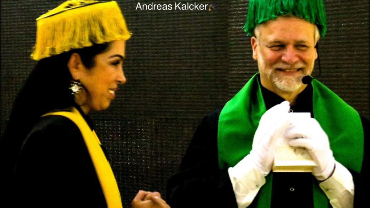 Honoris causa, Andreas Kalcker