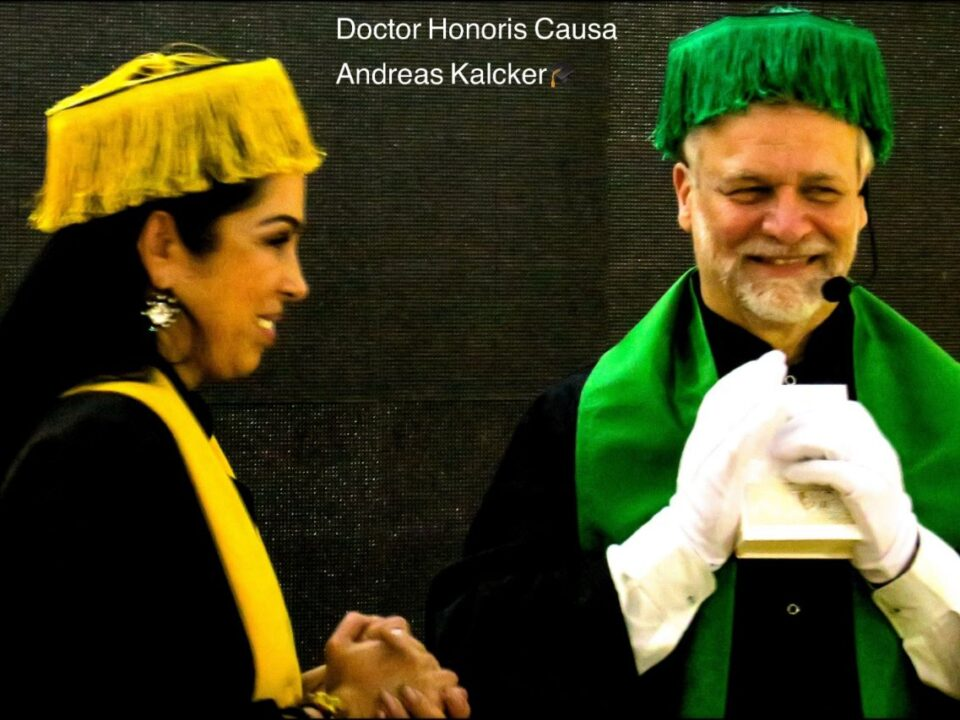 Honoris causa, Andreas Kalcker
